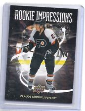 08-09 2008-09 UPPER DECK CLAUDE GIROUX ROOKIE IMPRESSIONS R12 FLYERS