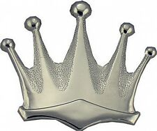 Plain Silver Royal Crown Belt Buckle king queen 237