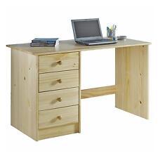 Schreibtisch Kinderschreibtisch Schülerschreibtisch Kiefer massiv natur