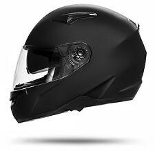 Toronto 700 S 55/56 Integral Motorrad Helm Schwarz matt Black Sonnenvisier
