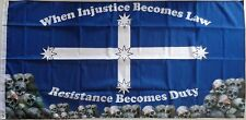 RESISTANCE BECOMES DUTY FLAG LARGE EUREKA FLAG AUSTRALIAN FLAG