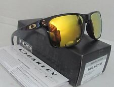 OAKLEY polished black/24k iridium SHAUN WHITE HOLBROOK OO9102-08 sunglasses NEW!