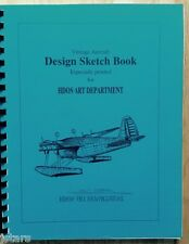 1940 LOCKHEED AIRCRAFT DESIGN SKETCH BOOK REPRODUCTION, AIRPLANE CONSTRUCTION