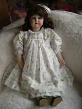 "Lilian Middleton Reproduction doll in beautiful clothing. 22"" tall"