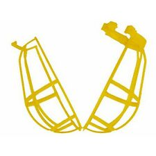 Light Bulb Protection Guard Cage, Yellow, Impact resistant thermoplastic