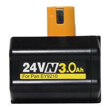 24V 3000mAh Battery for Panasonic Cordless EY6813 SDS PLUS ROTARY HAMMER DRILL