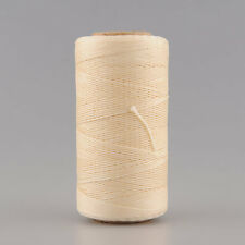 260Meter 1mm 150D Biege Leather Waxed Wax Thread Cord Craft Tool Hand Stitching
