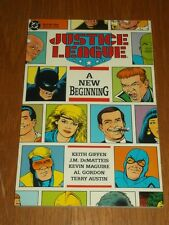 Justice League: A New Beginning by Keith Giffen (Paperback, 1991)   0930289404