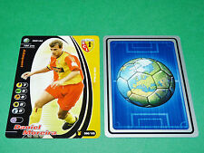 FOOTBALL CARD WIZARDS 2001-2002 DANIEL MOREIRA RC LENS RCL BOLLAERT PANINI