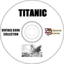 The Titanic Vintage Book Collection on CD