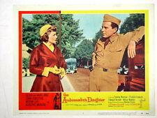 THE AMBASSADOR'S DAUGHTER Original Lobby Card OLIVIA DE HAVILLAND JOHN FORSYTHE