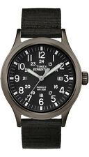Timex TW4B06900 Men's Expedition Scout Military Indiglo Slip-Thru Band Watch