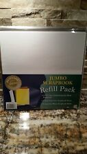 Jumbo Scrapbook Refill Pack - Archival Pages - Thompson - Photo Safe - Acid Free