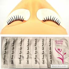 20 Pairs Under Eye Gel Pads Lint Free Patches For Extension Lashes *UK QUALITY*