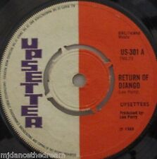 "UPSETTERS - Return Of Django / Dollar In The Teeth - 7"" Single"