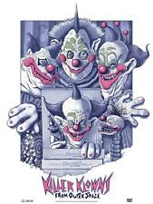 Killer Klowns From Outer Space Screen Print Poster Swainson