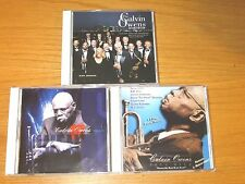 LOT OF 5 USED/PERFECT BLUES CDs - THE CALVIN OWENS BLUES ORCHESTRA