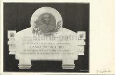 PUGLIA_GRAVINA_SOCIALISMO_CANIO MUSACCHIO_LAPIDE COMMEMORATIVA_DA COLLEZIONE_'11
