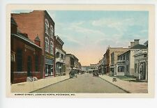 Rare POCOMOKE MD Market Street Antique PC Worcester County Eastern Shore 1920s
