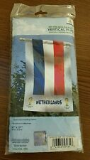 "2014 Fifa World Cup Brasil Netherlands 27"" x 37"" Flag NEW"