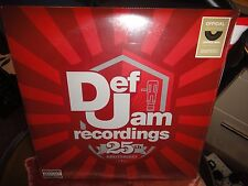 Def Jam 25th Anniversary Serato Control Records Clear Vinyl