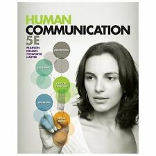 Human Communication 5e by Titsworth, Pearson, Nelson, Harter 5th Edition