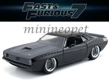JADA 97195 FAST AND FURIOUS 7 LETTY'S 1970 PLYMOUTH BARRACUDA 1/24 MATTE GREY BK