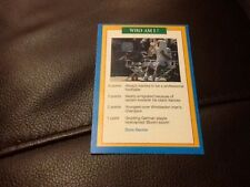 Boris Becker Tennis una questione di Sport Premier game card 1996/1997