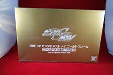 Bandai 0131664 1/100 MBF-P01 Gundam Astray Gold Frame Seed MSV Gold Plated Ver