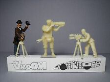 4  FIGURINES  1/43  SET  257  PHOTOGRAPHES  VROOM  A  PEINDRE  UNPAINTED