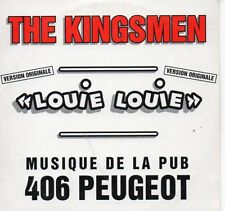CD Single The KINGSMEN - Publicité (Commercial) Peugeot Louie Louie 2-Track CARD
