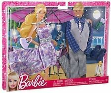 Barbie Ken Fashionistas Outfit Collection Date Night Fine Dine Doll Clothing Set