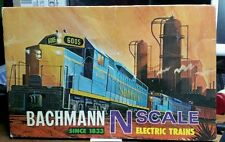 1969 Vintage Bachmann N Scale GP40 Diesel Train Set - Santa Fe in Original Box