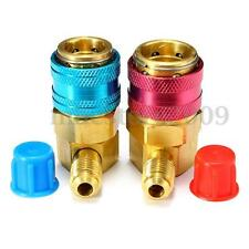 A/C Air Condition Quick Coupler Adapter High Low Manifold Connector R134A HVAC