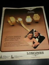 LONGINES  WATCHES  AD PUBLICITE ANUNCIO - SPANISH - 0510