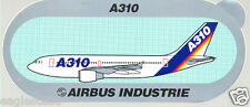 Baggage Label - Airbus - A310 - House Green Background - Sticker (BL443)