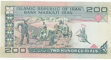 200 RIALS ERAAN REPUBLIC BANK NOTE IN UNC.............RARE