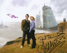 DAVID TENNANT BILLIE PIPER DOCTOR WHO SIGNED 10x8 INCH LAB PRINTED PHOTO