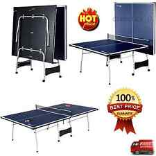 NEW Tennis Table Ping Pong Indoor Official Size 9' X 5' Tournament Play 4 Piece