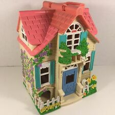 Mattel Fisher Price Loving Family Sweet Streets Country Cottage Doll House 2000
