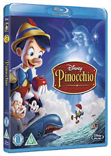 PINOCCHIO - BLU-RAY - REGION B UK