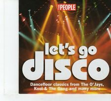 (FR123) The People Presents Let's Go Disco!, 8 tracks - 2005 CD