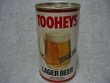 Vintage 1980's TOOHEYS LAGER Aussie Beer Can 24oz Tooth's KB Bottom Opened VHTF!
