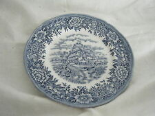 C4 Pottery Salem China English Village Side Plate 17cm 2D5B
