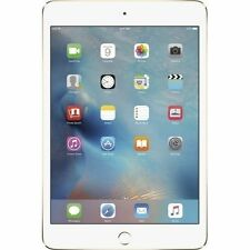 SEALED Brand New Apple iPad Mini 4 16GB WiFi + 4G LTE Cellular Unlocked Gold