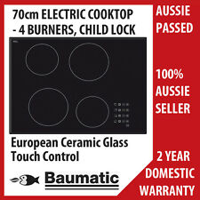 BAUMATIC 70CM TOUCH CONTROL CERAMIC COOKTOP RRP $809.00 MODEL BACE7004