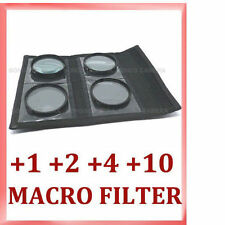 67mm Close Up Macro Lens Set +1,+2,+4,+10 + Case UK Seller