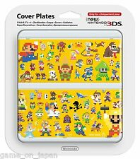 Super Mario Maker New Nintendo 3DS Cover Mario Bros Kisekae Plate Japan Import
