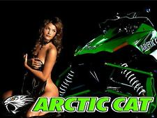 Arctic Cat Banner #4 Sno Pro Crossfire Snowmobile Girl High Quality!!!!