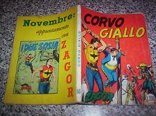 ZAGOR ZENITH N.55 ORIGINALE DEL 1965 MOLTO BUONO NO TEX MARK ARALDO DOG RANGER